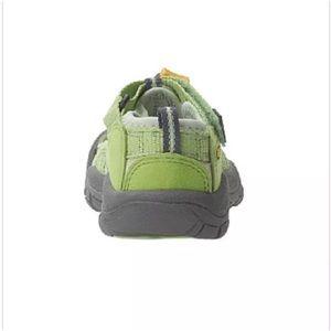 Keen Shoes - Keen Girls Waterproof Newport Sandals Green Size 4